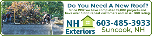 NH's favorite roofing contractor!
