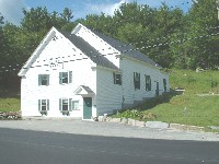 Photo of the Goshen, NH town offices.